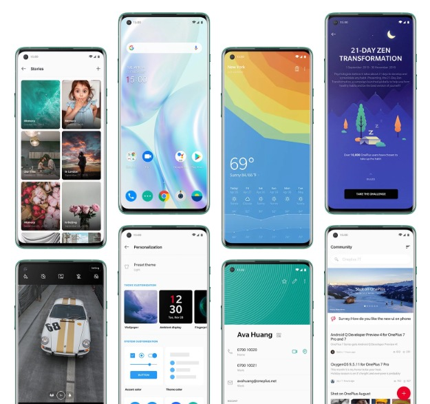 OnePlus 8 series overview