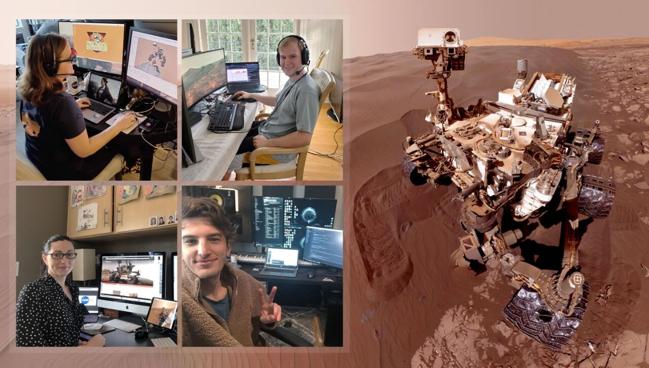 NASA work from home