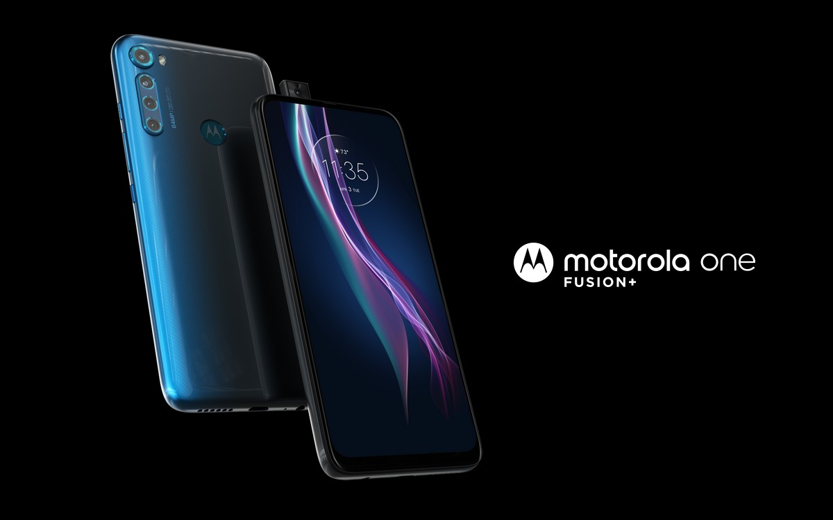 Motorola One Fusion+ launched in India.