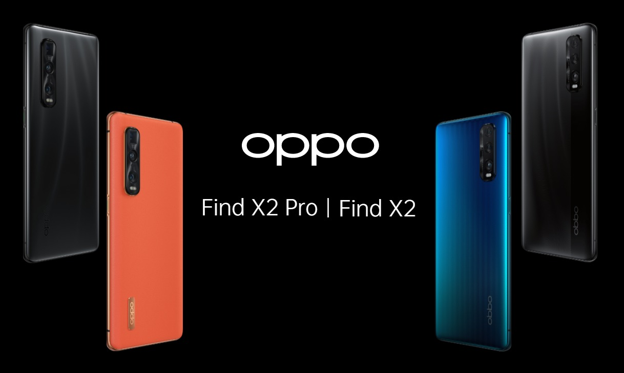 Oppo launches the Find X2 and X2 Pro in India.