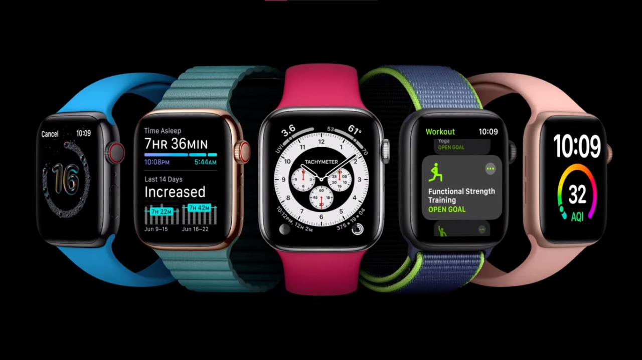 Apple's new watchOS 7. With sleep tracking, hand washing detection and more.