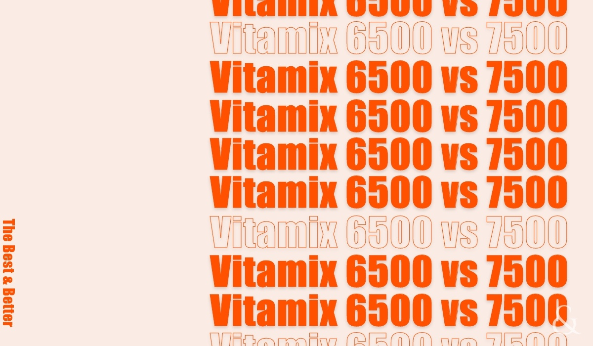 Vitamix 6500 vs 7500 – Which One Is Best