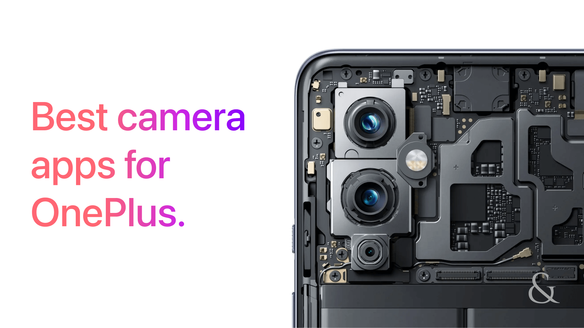 Best Camera Apps For OnePlus